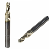 Solid Carbide 3 Flute Step Drill ZRN Coated